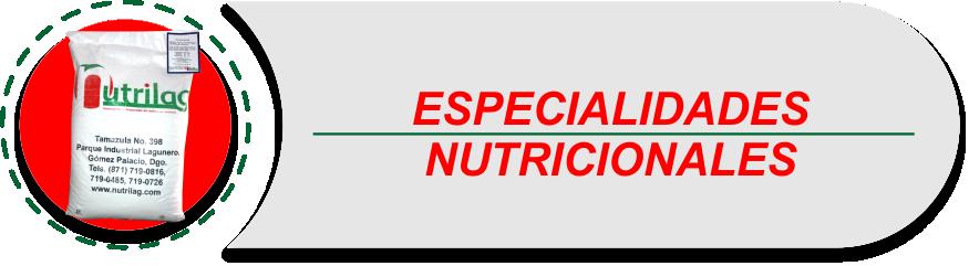 especiales nutricionales